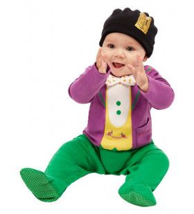 Roald Dahl Willy Wonka Kleine Baas Baby Kind Kostuum