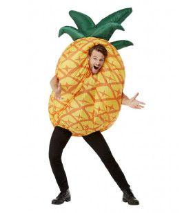 Opblaasbaar Ananas Kostuum Man