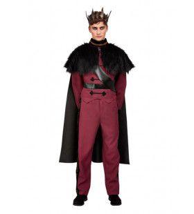 Elegante Donkere Prins Man Kostuum