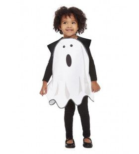 Wit Spook Tuniek Kind Kostuum