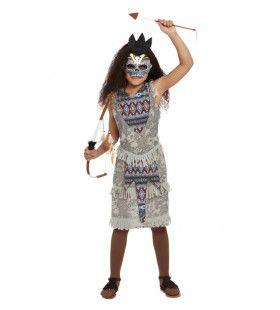 Native American Voodoo Indiaan Meisje Kostuum