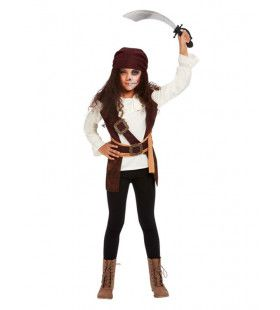 Filmische Piraat Meisje Kostuum