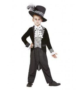Mini Mad Hatter Jongen Kostuum