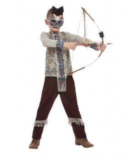 Native American Voodoo Indiaan Jongen Kostuum