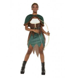 Luxe Amazone Boogschutter Vrouw Kostuum