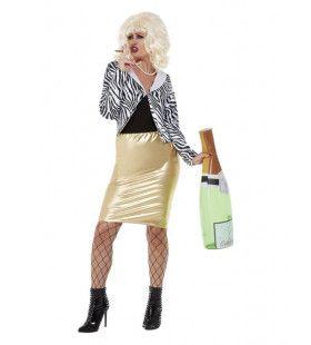 Lady Fabulous Vrouw Kostuum
