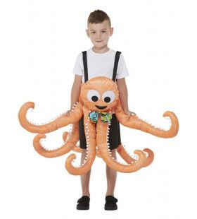 Octopus Heeft Een Handje Nodig Kind Kind Kostuum