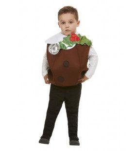 Kerst Pudding Lekker Toetje Kind Kostuum