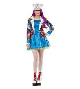 Coachella Festival Kleursensatie Vrouw Kostuum