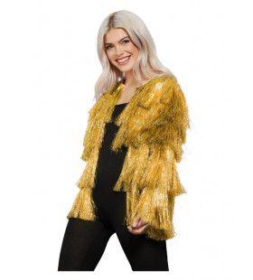 Gouden Flapper Je Los Jas Tina Vrouw Kostuum