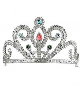 Koninklijke Prinsessenkroon Zilver Met Diamanten, Zilver