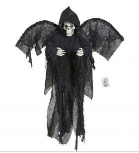 Horror Deco Grimreaper Met Vleugels, 51cm