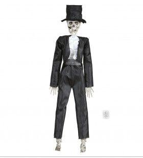 Halloween Deco Skelet Bruidegom 50cm