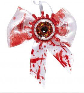 Halloween Strikje Met Bloedend Oog