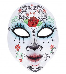 Mexicaans Halfgezichtsmasker Dag Der Doden