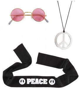 Hippie Verkleedset Woodstock For Ever