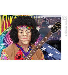 Masker Latex / Schuim Woodstock Met Haar