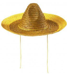 Sombrero 48cm, Geel