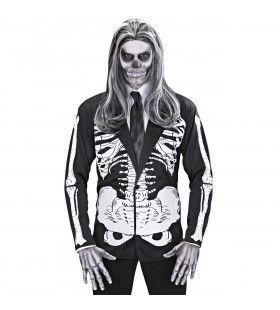 Keurige Skelet Jas Volwassen Medium / Large Man