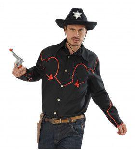 Rodeo Cowboyshirt Met Pailletten Decoratie Man