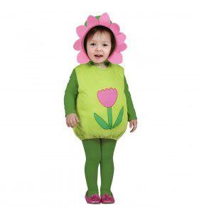 Flower Child Opgevulde Bloem Kind Kostuum