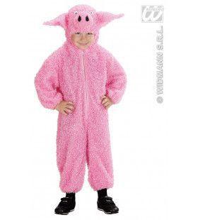 Varken 104 Cm Pink Piggy Kostuum Baby