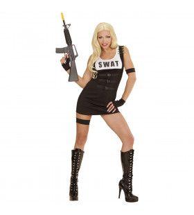 Arrest Me S.w.a.t. Meisje Vrouw Kostuum