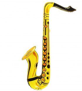 Jazzy Jester Opblaasbare Saxofoon Geel