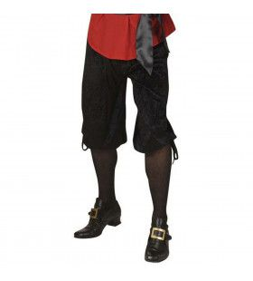Kniebroek Zwart Man