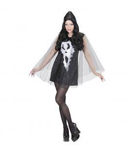 Jurk Schreeuwende Geest Screamy Lady Vrouw Kostuum