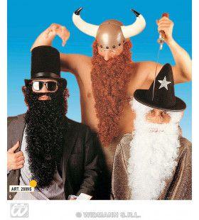 Grote Baard Met Snor, Zwart