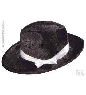 Gangster Hoed Zwart