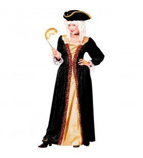 Venetiaanse Edelvrouw Ms Vaporetto XL Kostuum