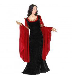 Elegante Prinses Fantasy Kostuum Vrouw