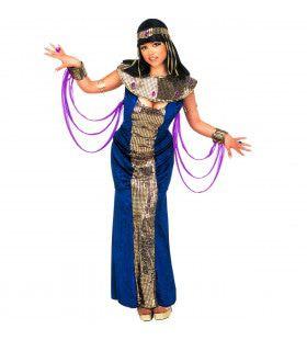 Mystieke Cleopatra, Fluweel Kostuum Vrouw