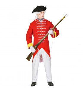 Engelse Rode Soldaat Kostuum Man