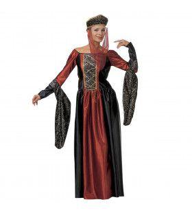 Geklede Markiezin XL Kostuum Vrouw