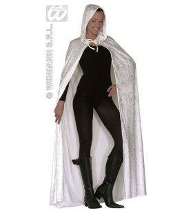 Luxe Cape Wit, 150cm Kostuum