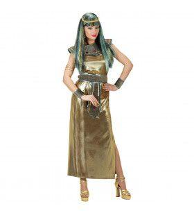 Glimmende Cleopatra Kostuum Vrouw