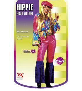 Go Go Hippie Vrouw, Fluweel Kostuum