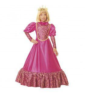 Prinses Meisje Middeleeuwen Lady Landgoed Kostuum
