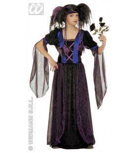 Gothic Princess Kind Gothica Kostuum Meisje