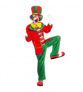 Clown, Fluweel Top Hat Kostuum Man