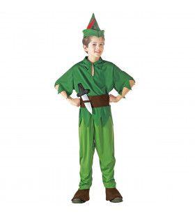 Peter Pan Prince Of Thieves Kostuum Jongen