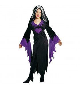 Lady Mortisia Kind Kostuum Meisje