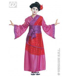 China Girl Queen Of Geishas Kostuum Meisje
