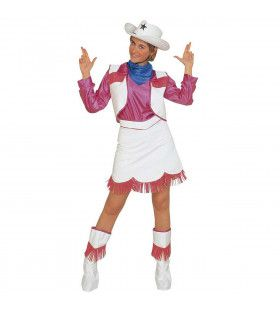 Saloon Cow Girl Kostuum Vrouw