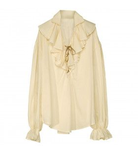 Piratenshirt Beige XL