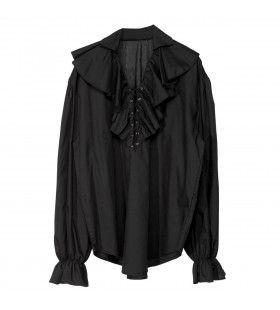 Piratenshirt Zwart