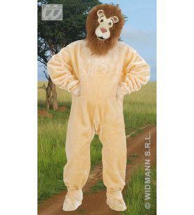 Harige Pluche Leeuw Kostuum Man